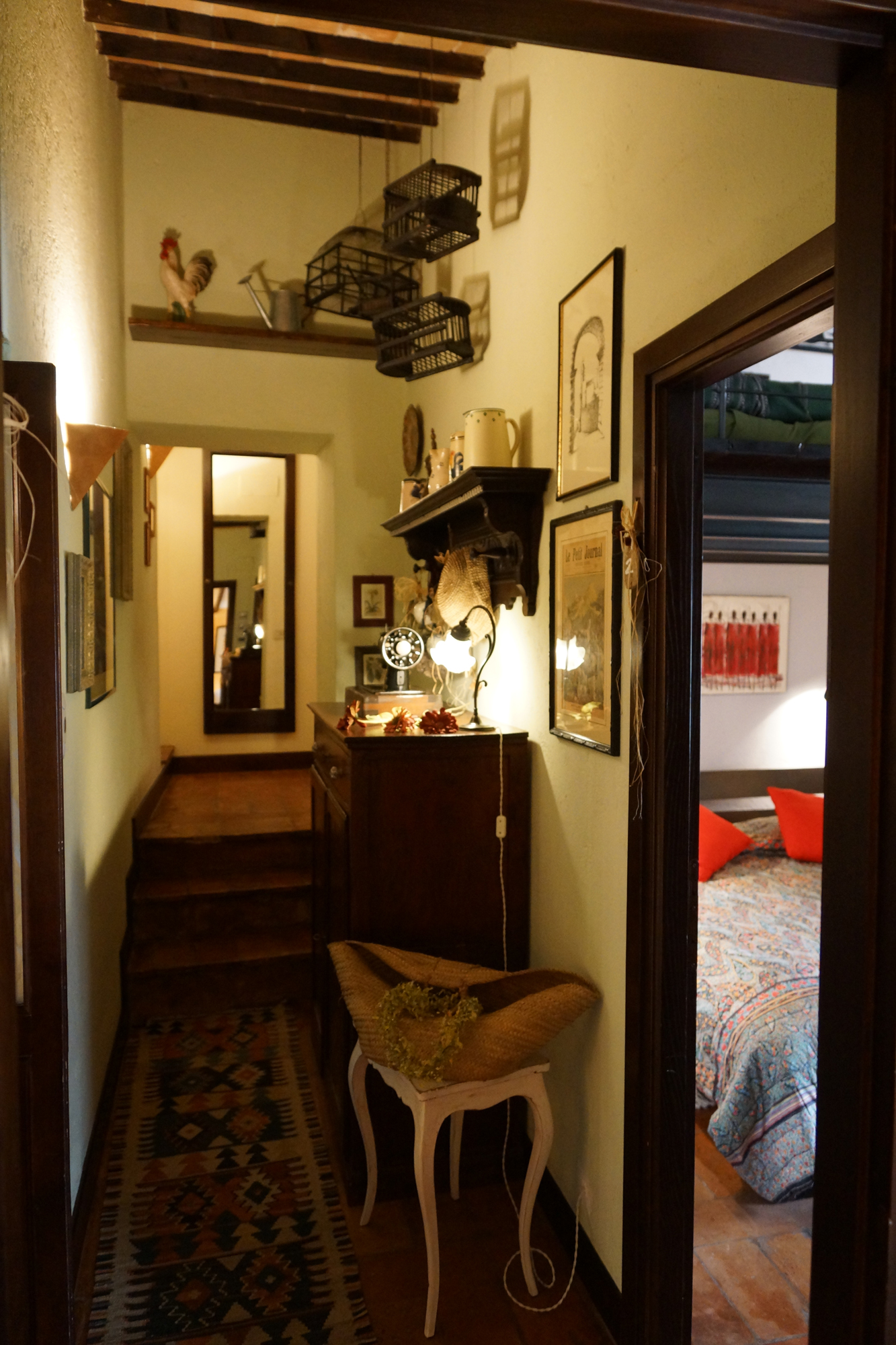 Vacanze in Umbria - Bed & Breakfast - umbria (MASSA MARTANA -  Perugia - PG) ~ corridoio