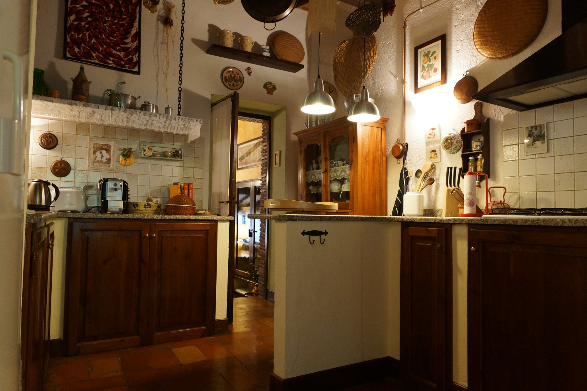 Vacanze in Umbria - Bed & Breakfast - umbria (MASSA MARTANA -  Perugia - PG) ~ cucina
